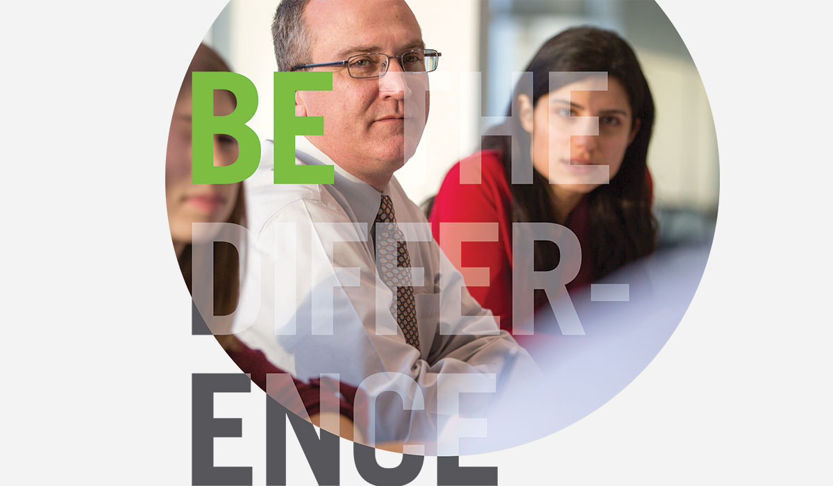 AMRI poster: Be the difference